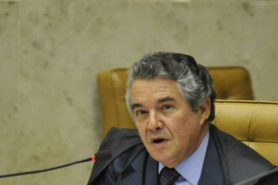 O ministro do Supremo Tribunal Federal (STF), Marco Aurélio Mello