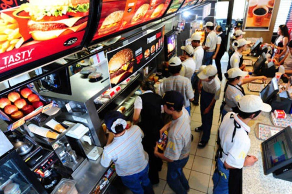 Loja do McDonald's em São Paulo