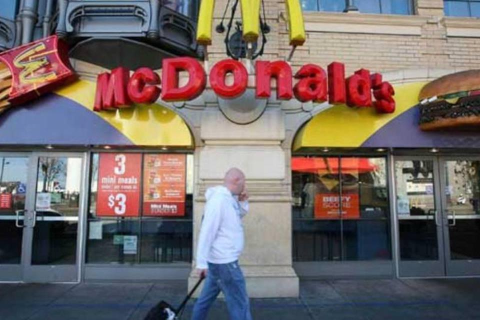 McDonald's: alimentação
