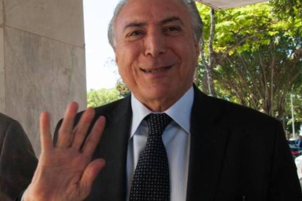 """""""Não há como trabalhar separadamente porque a separação envolve prejuízos para o país"""", declarou Michel Temer"""