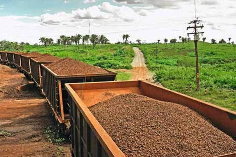 Transporte de minério de ferro