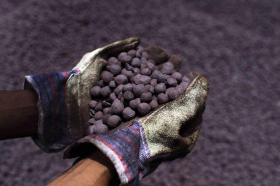 Minério de ferro: os futuros do minério caíram nesta terça-feira, um dia após registrarem o maior recuo para um único dia em quase 10 meses