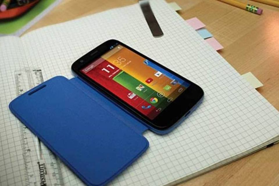Moto G, o smartphone bom e barato da Motorola, ganha elogios | Exame
