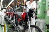 Fábrica de motos da Honda no Brasil