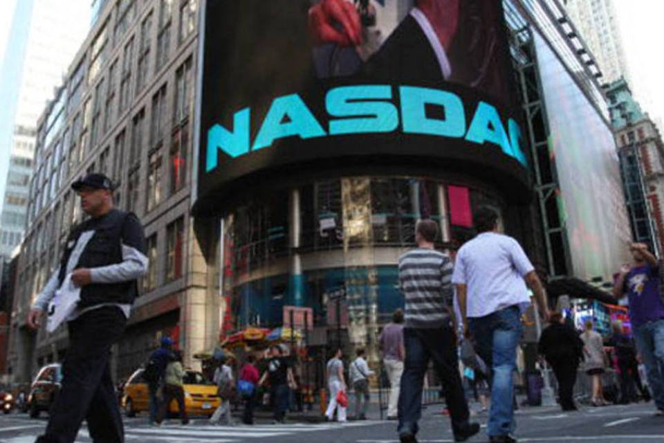 A Nasdaq, em Nova York