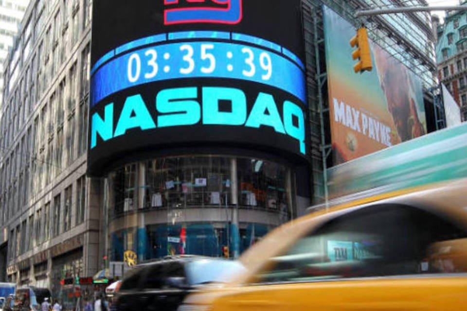 Painel da Nasdaq na Time Square, Nova York