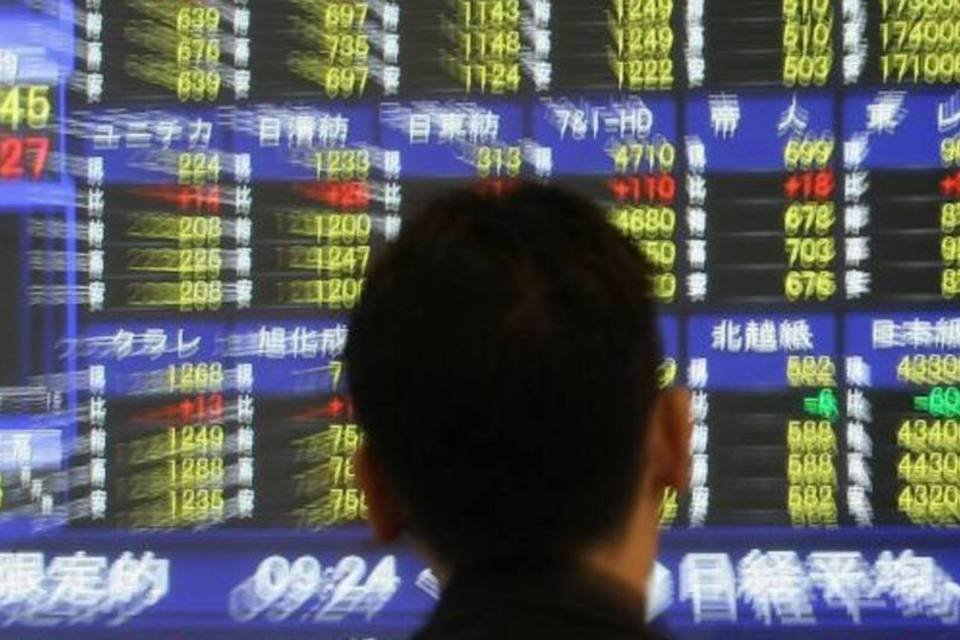 Bolsa Nikkei Oscilação
