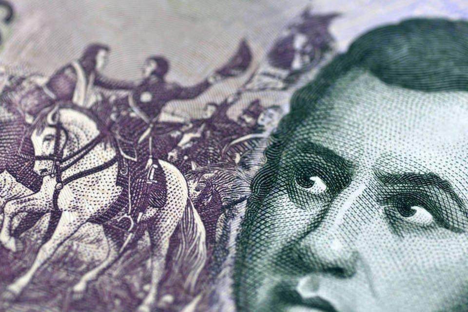 Nota de cinco pesos argentinos