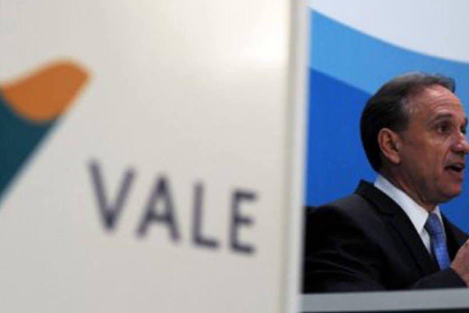 O presidente da Vale Murilo Ferreira em coletiva de imprensa em maio de 2011