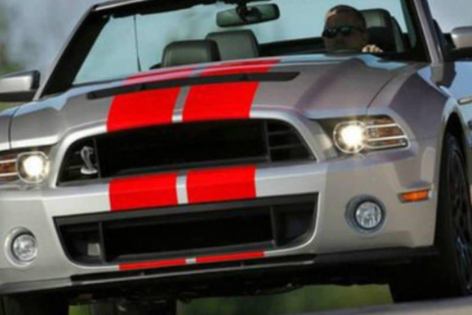 Último Ford Mustang Shelby GT500 Convertible será leiloado ...