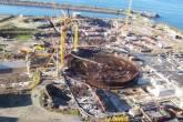 Obras da usina Angra 3, no RJ