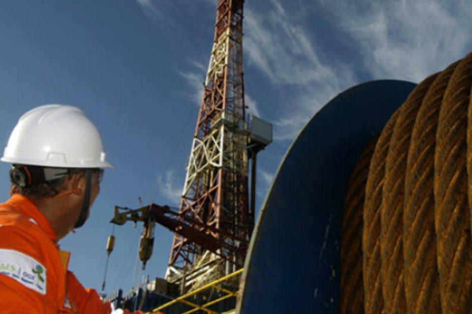 Plataforma de petróleo da OGX