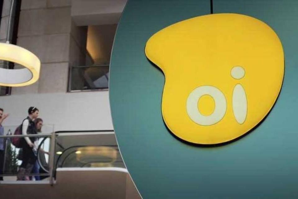 Logo da Oi, maior operadora de telefonia fixa do Brasil