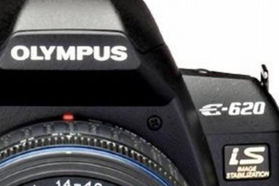 Câmera digital da Olympus