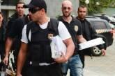 Os documentos da Operação Zelotes chegam ao Departamento de Polícia Federal, na Superintendência Regional de São Paulo, dia 09/05/2016