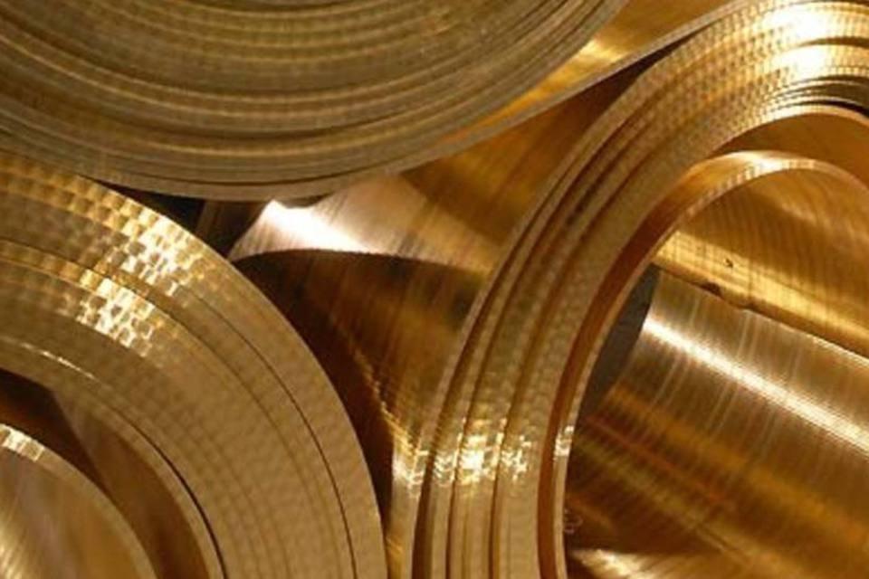 Bobinas de cobre da Paranapanema