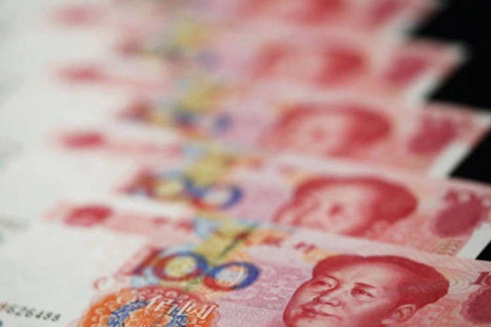Notas de iuane, a moeda chinesa
