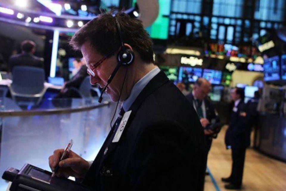 Nasdaq de Wall Street em Nova York, EUA em 9 de janeiro de 2013