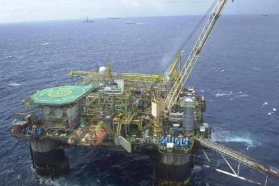 Plataforma de petróleo - Petrobras