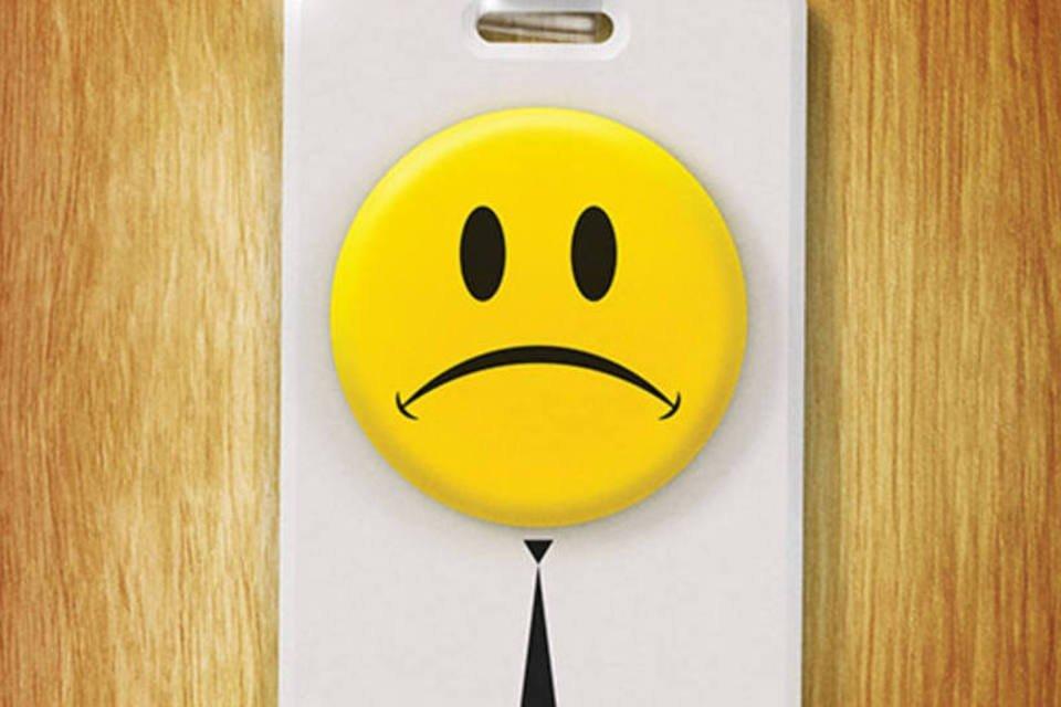 A raiz da infelicidade no trabalho? É fácil ver   Exame