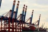 Porto de Hamburgo, na Alemanha