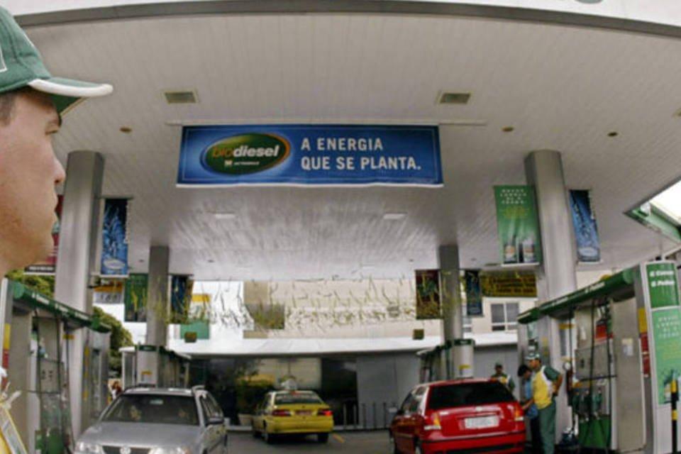 Posto de combustível da Petrobras