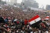 Protesto em Cairo, no Egito