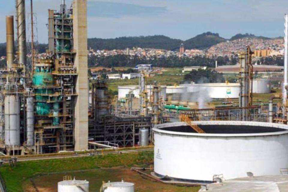 Refinaria da Petrobras em São Paulo