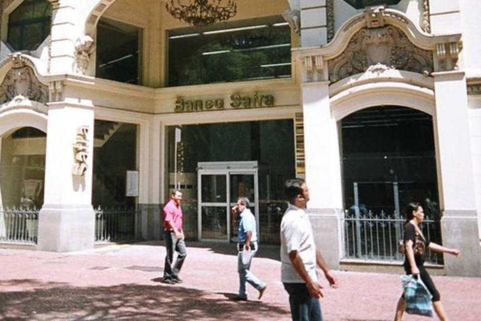 Agência do banco Safra