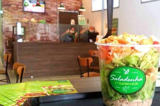 Salada da empresa Saladenha