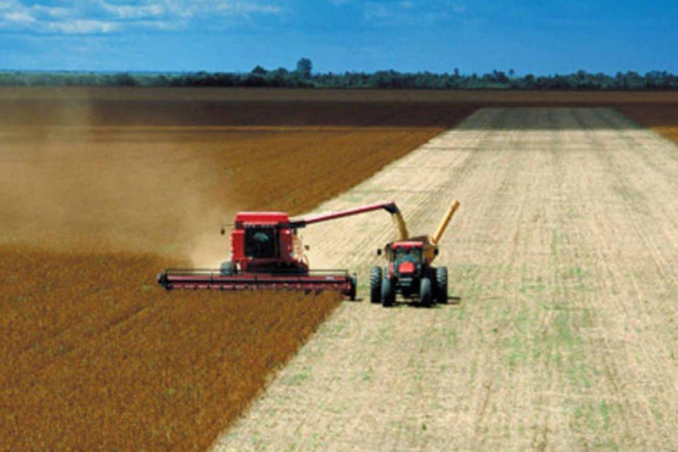 Colheita de soja no Mato Grosso (Arquivo/EXAME)