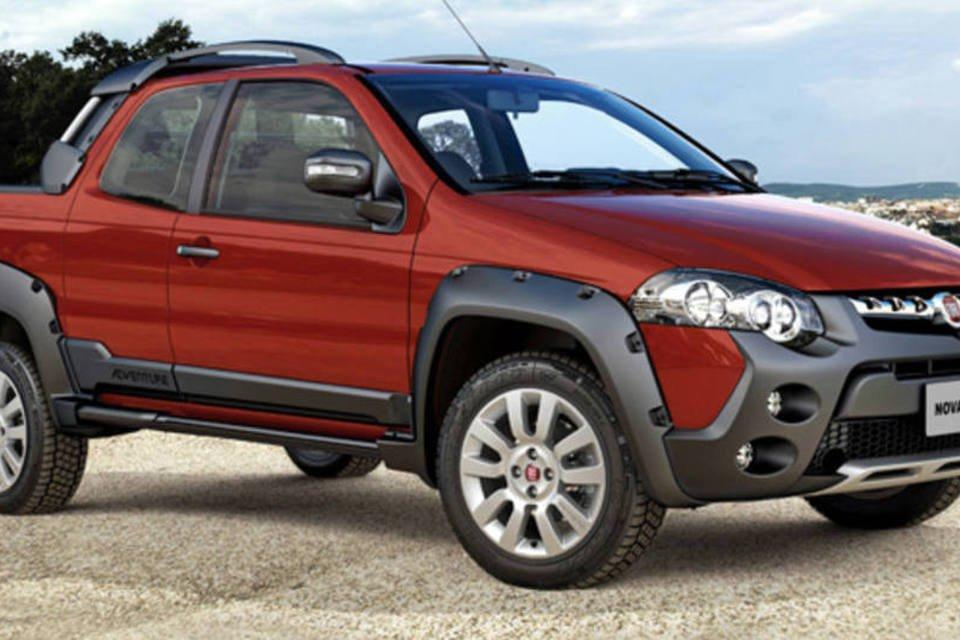 Nova picape Fiat Strada, com três portas lançada em 2013