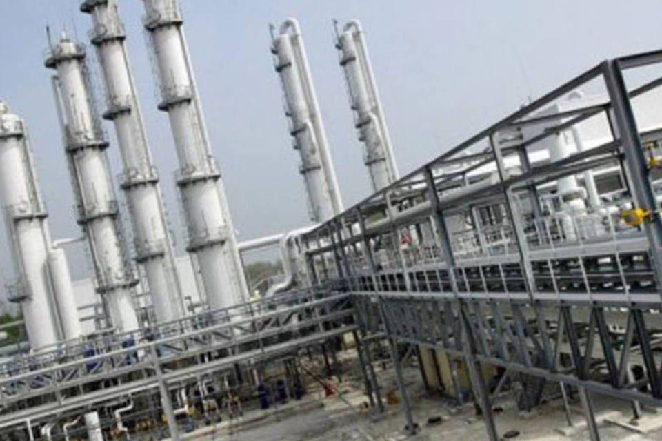 Usina de biocombustíveis da Tereos em Origny-Sainte Benoîte, França