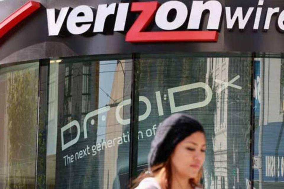 Loja da Verizon Wireless em São Francisco, na Califórnia