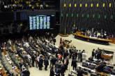 Plenário da Câmara dos Deputados durante a votação da MP dos Portos (15 de abril de 2013)