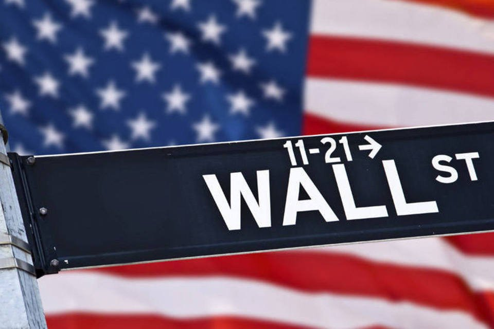 Placa de Wall Street