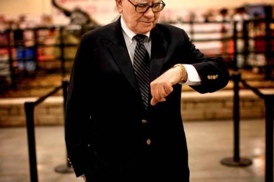 O investidor americano Warren Buffett