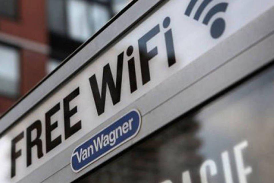 Placa de WiFi gratuito