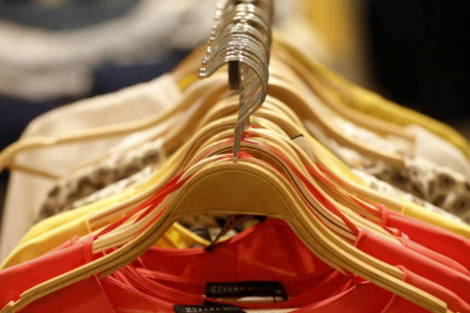 Loja de roupas Zara em Madri, na Espanha