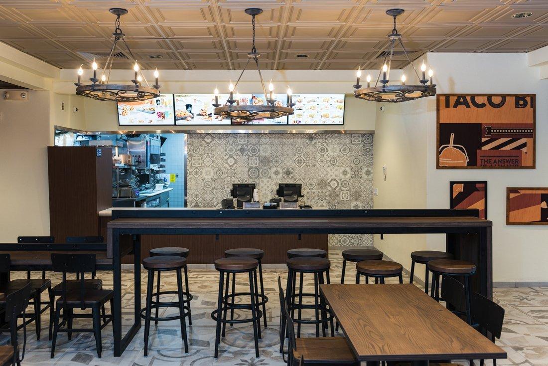 Novos restaurantes do Taco Bell: Heritage