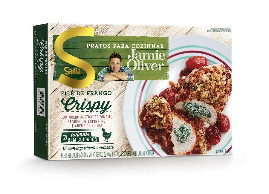 Novo produto da Sadia em parceria com Jamie Oliver