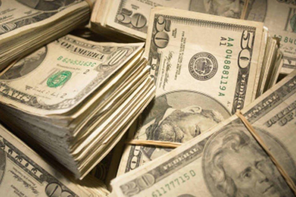 Notas de dólar - dinheiro