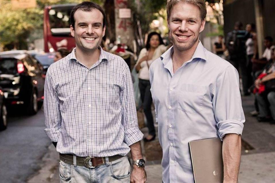 Thiago Alvarez e Benjamin Gleason, sócios fundadores do GuiaBolso