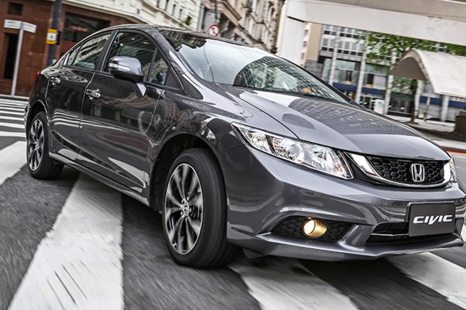 Honda lança linha 2016 do Civic