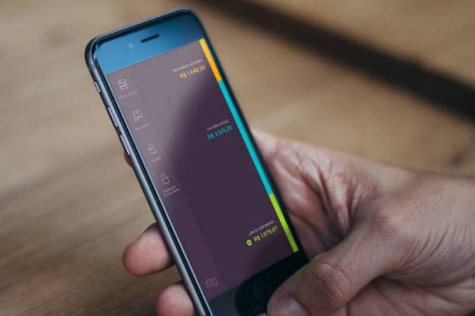 Aplicativo do Nubank no celular