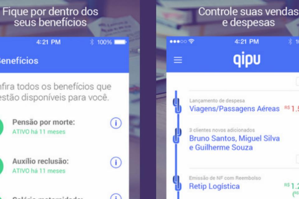 O aplicativo Qipu, parceria entre Sebrae e Buscapé