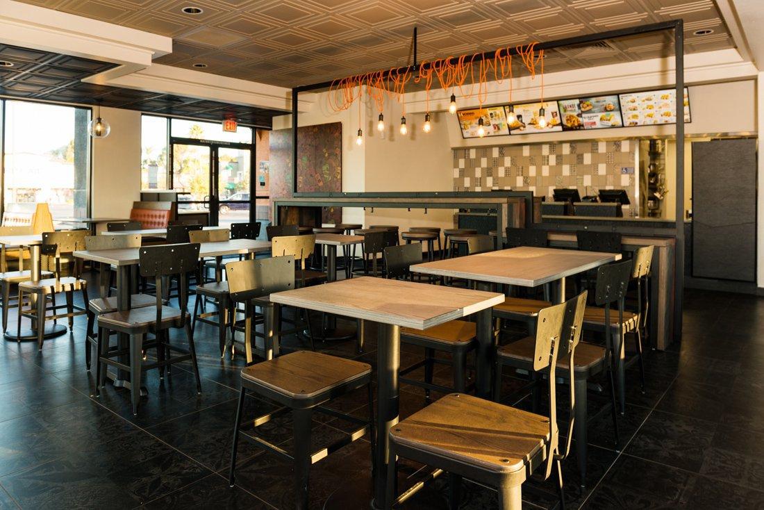 Novos restaurantes do Taco Bell: Urban Edge
