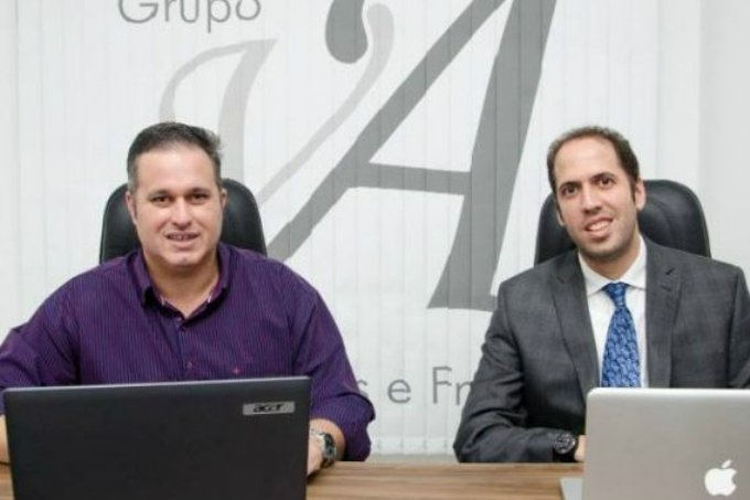 Vinicius Almeida e Alexandre Loudrade, da Evolute Cursos