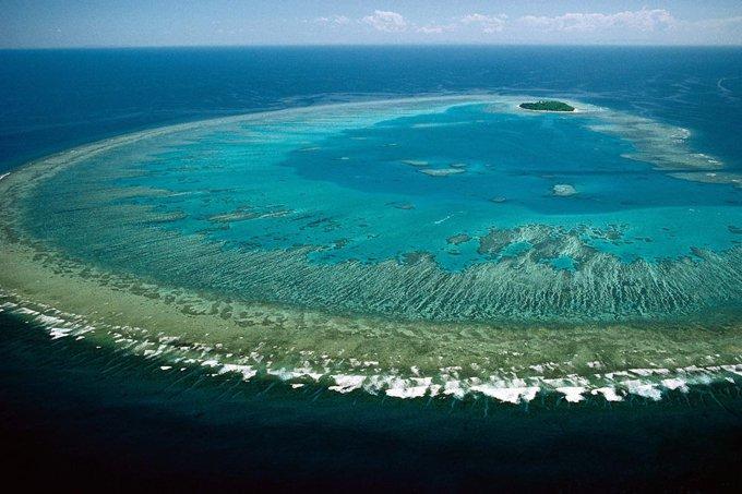 Grande Barreira de Corais, na Austrália