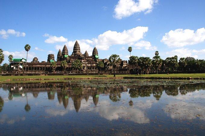 Templo Angkor Wat, no Camboja